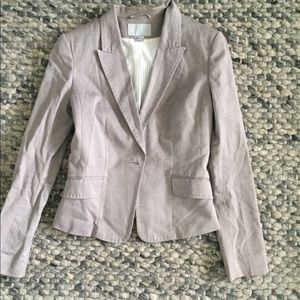 Gray H&M Blazer Jacket